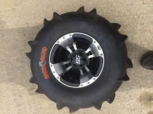 NEW Never mounted ITP SS rims Kenda gecko paddles