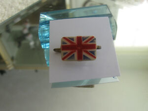 INTERESTING OLD UNION JACK COLLECTOR'S LAPEL PIN