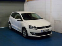 Volkswagen Polo 1.2 ( 60ps ) 2012MY Match 3 Door In Candy White