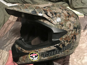 Can am dirt bike helmet