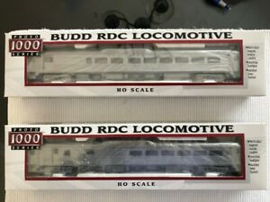 New Haven RDC (2 and 3) HO Train Cars