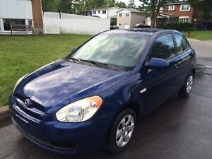 2007 Hyundai Accent...automatique-equippee-a/c froid