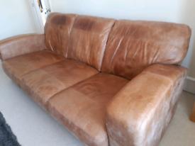 Nice leather sofa