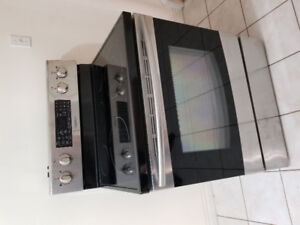 """Samsung 30"""" stainless steel electric ceramic top stove oven 3YR"""