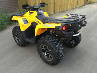 2014 Can-Am Outlander 650XT - Like New! Power Steering