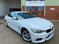 2015 65 BMW 4 Series 430d M Sport 2dr Diesel - Automatic - Alpine White