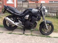 Suzuki bandit 600, W reg mk1, may deliver
