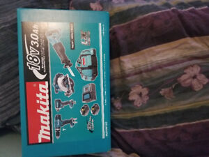 Makita DLX4057X1 18V LXT 4 Piece Combo 3.0Ah Kit with 2Batteries