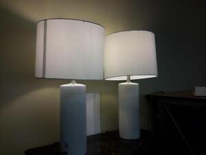 *** NEW *** ASHLEY STEUBEN LAMPS   S/N:51249607   #STORE909