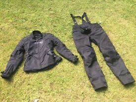 ARMR women's motorbike jacket and trousers