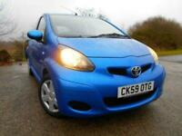 2009 Toyota AYGO 1.0 BLUE VVT-I 5d 67 BHP ** ONE PREVIOUS OWNER ....ONLY 77,260