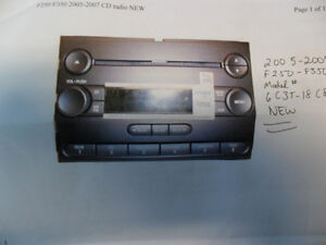 FORD FACTORY RADIO F250 -350 BRAND NEW London Ontario image 1