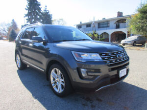 2016 Explorer Limited NAV LEATHER HEATED SEATS