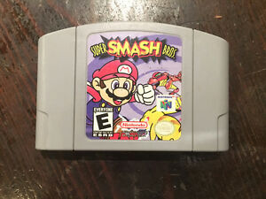 Super Smash Bros for N64.  Cleaned and guaranteed to work