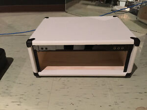 Studio rack case for amp head
