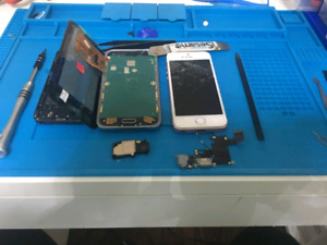 Cell Phone Repairs on wheels