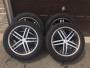"""20"""" VOSSEN Rims 265/50/20 Goodyear Fortera Tires (All Season)"""