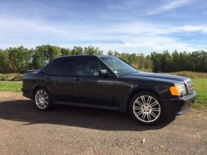 1987 Mercedes Benz 190e 2.3-16 low km rare 5speed