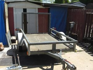 2009  50 ins x 6.4 ft MARATHON TRAILER WITH A RAMP