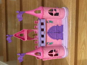 Fisher Price Little People Castle with Princess and Prince