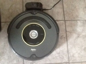 Robot vacuumed Roomba
