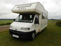 CI Riviera 660 6 berth spacious motorhome for sale Bishop's Cleeve, Cheltenham