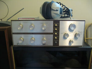 Harman Kardon Citation IV preamplifier and 16M Mono amplifiers