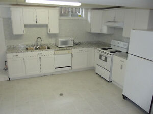 Large 1 bedroom basement apartment located in desirable Hespeler