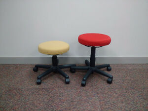 Used Teknion Collabrative Stools