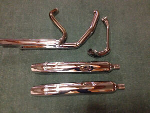 COMPLETE HARLEY EXHAUST SYSTEM