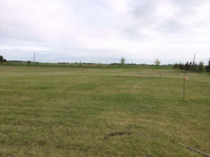 5 acres of land minutes from Ponoka No GST