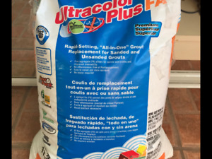 Coulis mapei ultra color plus FA couleur givre 11.3 kg