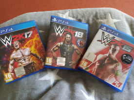 W2K PS 4 games