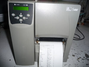 Zebra S4M Label Printer Parallel Serial + USB SM400-2001-0100T