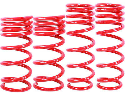 RED Lowering Springs fit 03-08 Nissan 350Z Infiniti G35 2dr Approx. 1.25