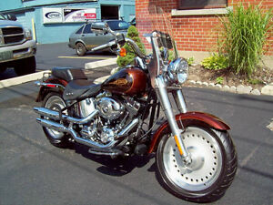 HARLEY DAVIDSON FATBOY,ONE OWNER, CDN. BIKE,LOW KILOMETERS