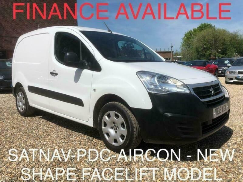 748037c478 2015 Peugeot Partner 1.6 HDi Professional L1 625 Panel Van 4dr Diesel Manual