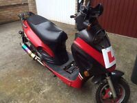 Huatian HT50QT-6 50cc moped - only £50