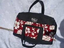 Balinese carry bag.Made in Bali red and white with black trim Wellington Point Redland Area Preview