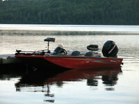 2006 Triton 176 Magnum fire engine red bass boat for sale!