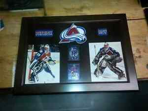 Patrick Roy wall plaque