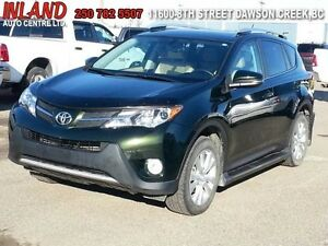 2013 Toyota RAV4 Limited  Auto,Running Boards,Hood Deflector,Lea