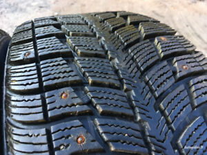 4 Studded 235/55/17 Federal Himalaya WS2 Winter tires