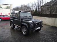 4X4 DEFENDER 90 COUNTY TDI,4 OWNERS FROM NEW WITH GOOD SERVICE HISTORY.