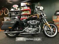 2018/18 HARLEY-DAVIDSON XL 1200 T SUPERLOW SPORTS ONLY 1,200 MILES
