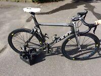 Carbon road bike felt ar5 dura ace mavic decal wheels (novatec hubs)