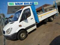 2013 MERCEDES-BENZ SPRINTER 313CDI 14FT DROPSIDE WITH TAILLIFT SCAFFOLDING TRUCK
