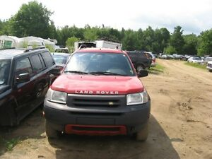 "2002 LAND ROVER FREELANDER 2.5L AUTO "" PIECES A VENDRE """