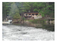 Water-Access Only cottage 40 minutes from Barrie!