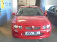MG ZR 1.4 105 3 DOOR - 2003 53-REG - FULL 12 MONTHS MOT